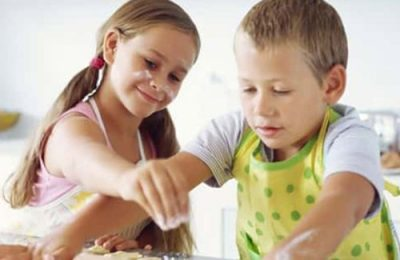 The benefits of assigning a child to the kitchen work
