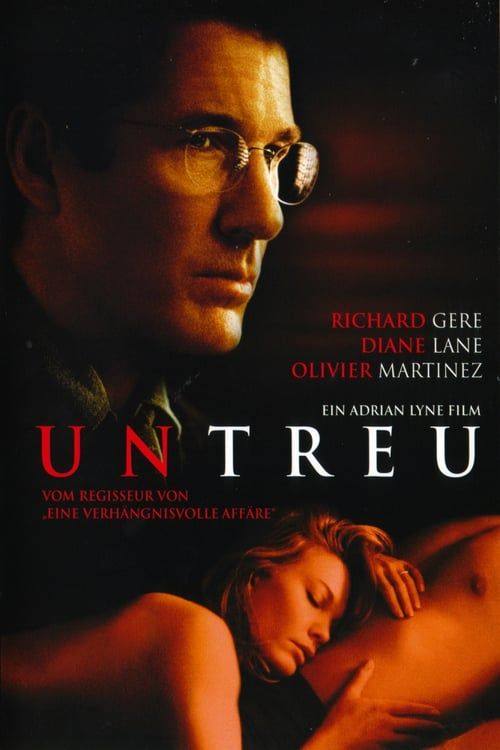 Poster of the Diane Lambert movie Unfaithful.