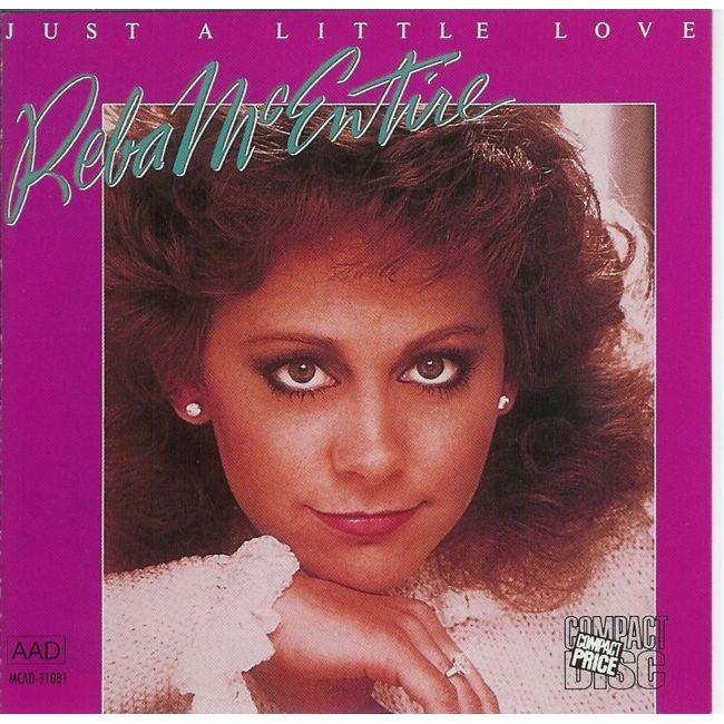 Album cover of Reba McEntire's Just A Littel Love.