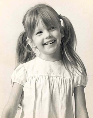 Diane Lane as a Kid.