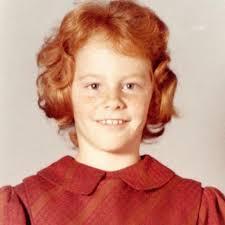 Reba McEntire as a teenager.