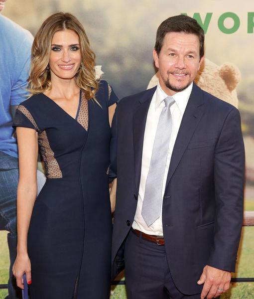 Mark Wahlberg and wife Rhea Durham.