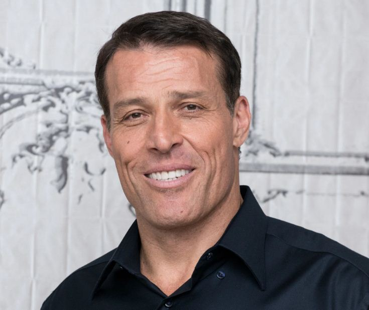 Tony robbins height and weight